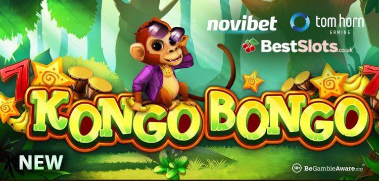 """Tom Horn Gaming เปิดตัววิดีโอสล็อตใหม่ KONGO BONGO นำเสนอ """"ตารางการเปลี่ยนแปลงแบบไดนามิก"""""""
